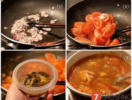 Cách nấu bún riêu thơm ngon cho gia đình