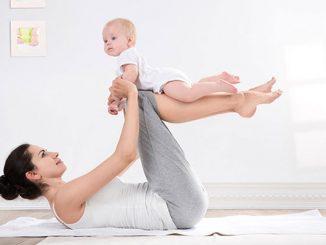 BÍ quyết lấy lại vòng eo sau sinh