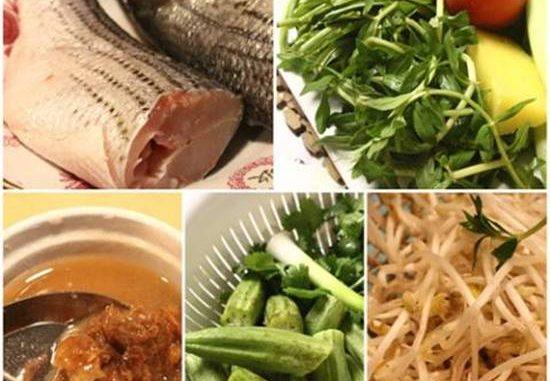 Canh cá nấu chua kiểu miền Bắc ngon mà đậm đà