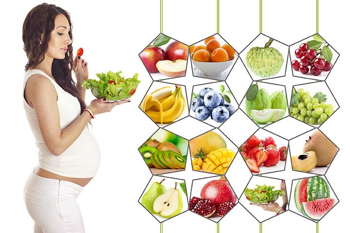 Ăn uống đủ chất và điều độ cho mẹ bầu