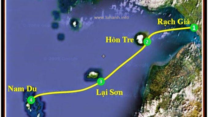Du lịch đảo Nam Du cùng gia đình vào dịp Tết.