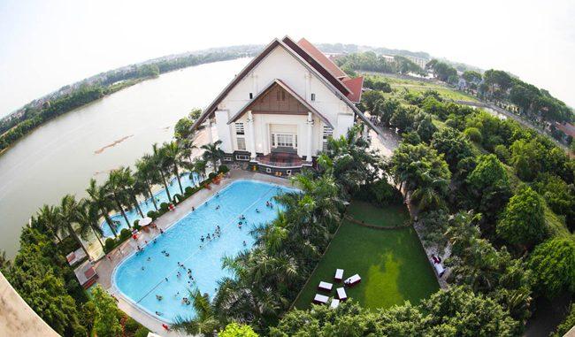 song-hong-resort-Gợi ý 6 resort tốt dành cho gia đình tại Hà Nội